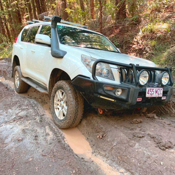 The Trackz Adventure Prado 150 - stuck!