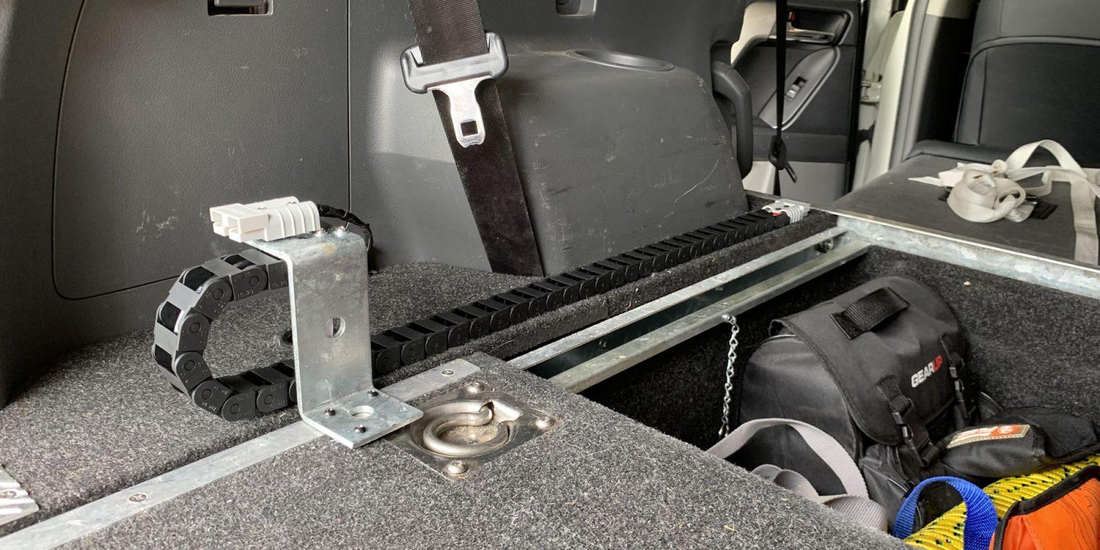 Fridge slide wiring to beat broken cables
